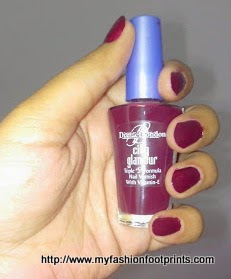 Diana of London Nail Polish Maple -02 Review