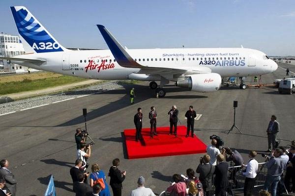 AirAsia Airbus A320 Sharklet