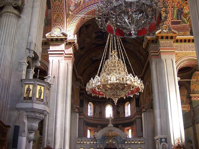 Aziz Minas Kilisesi içi, Heraklion