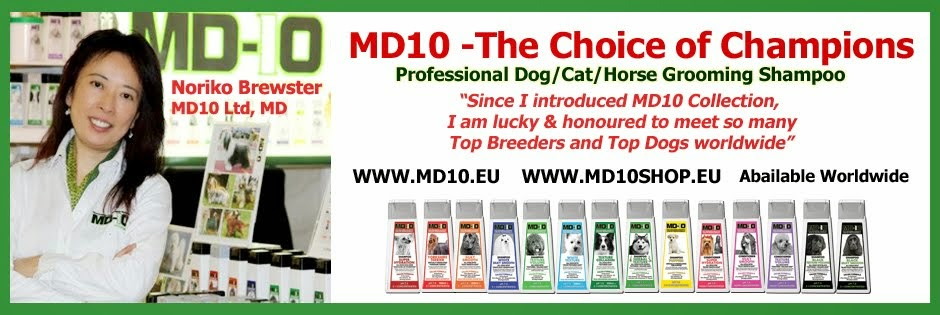 Professional Dog Grooming Shampoo MD10 Collection - Champu para Perros
