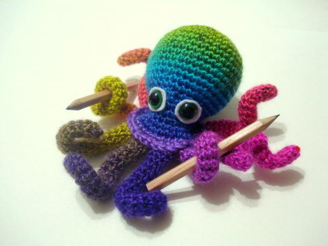 Amigurumi Octopus Pattern : AllSoCute Amigurumis: Amigurumi Octopus Pattern, Crocheted ...