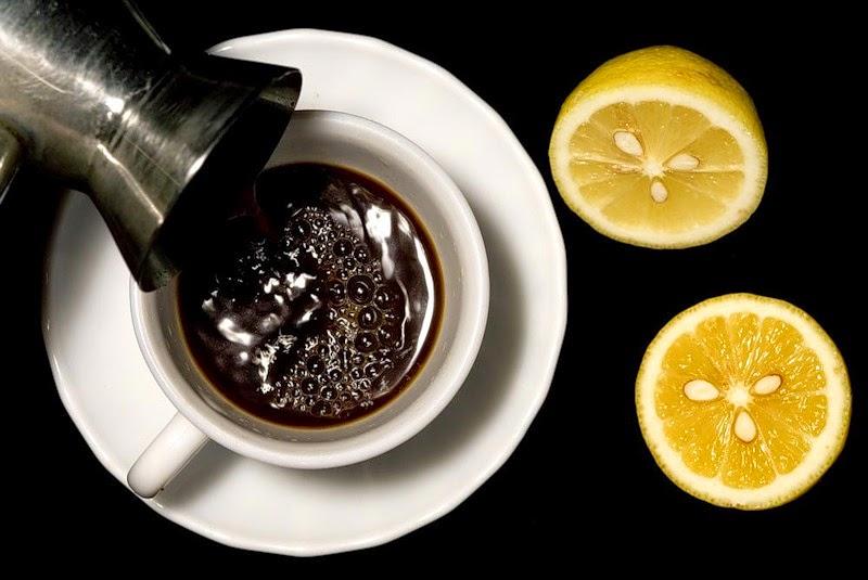 Kávé citrommal