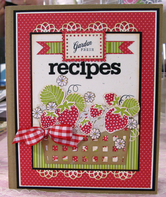 Cookbook Covers Printable Free : Sincerely yours more cookbook fun