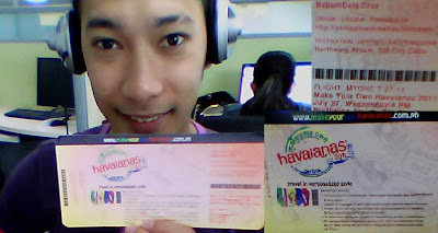 Day 140: MYOH 2011 Invitation - Make Your Own Havaianas