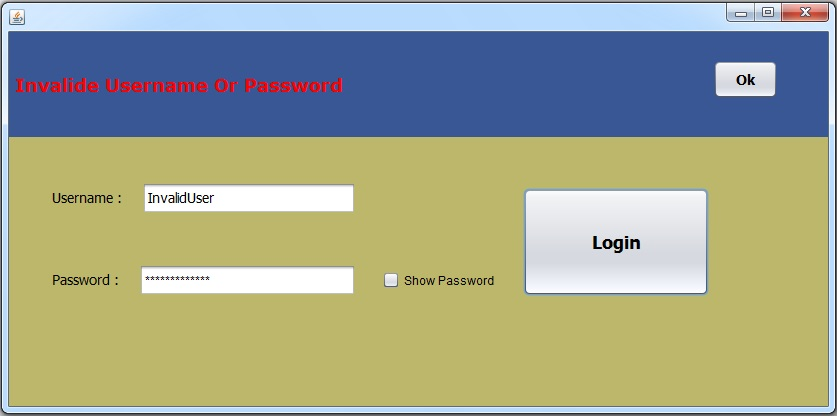 public class login form in vb Netbeans platform login tutorial this tutorial demonstrates how to create a login form for a netbeans platform application  / public class installer.