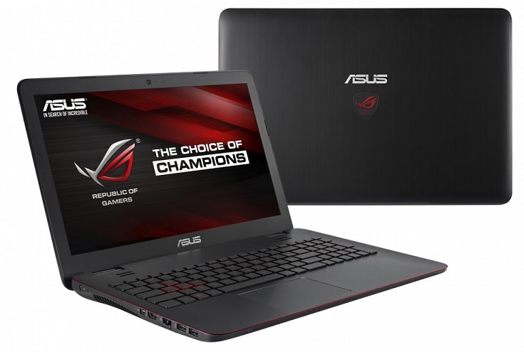 ASUS ROG G551 gaming notebook