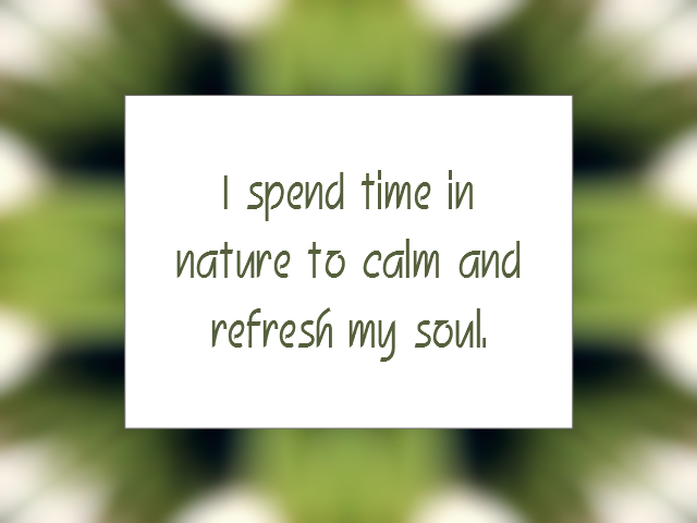 CALM and RELAXED affirmation