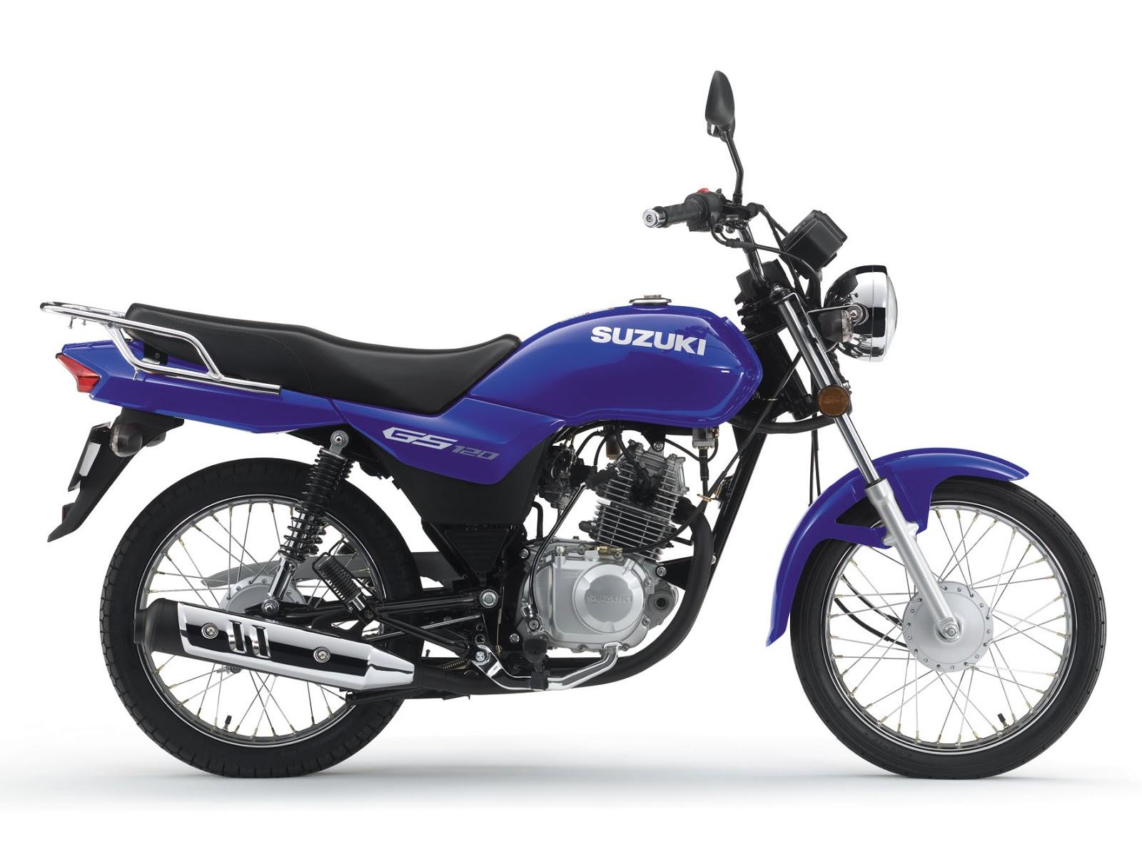 Suzuki GS 120 - cor azul