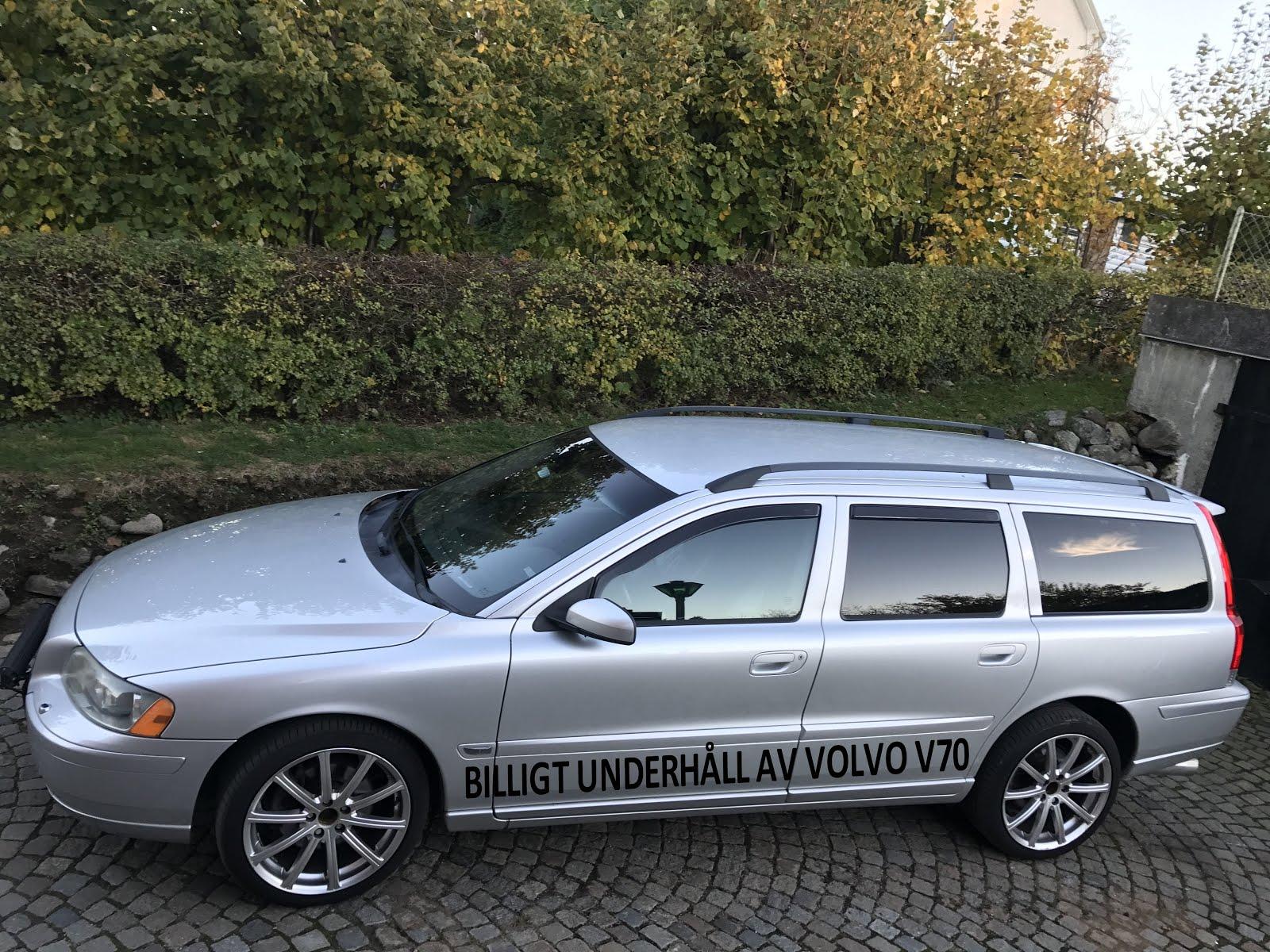 BILLIGT UNDERHÅLL AV V70 2,5T 2005