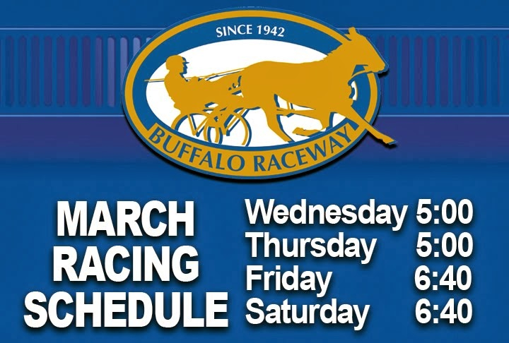 March Live Racing Schedule