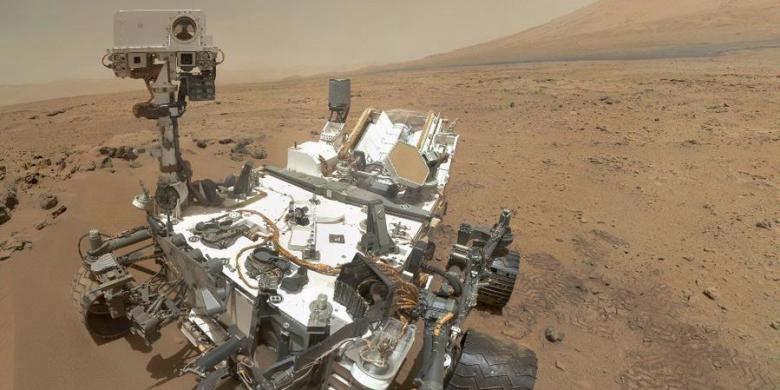 Hari Ini, Tepat Dua Tahun Robot Curiosity Berada di Planet Mars