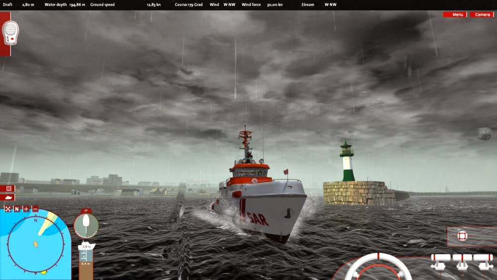 Game Ship Simulator Maritime Search and Rescue
