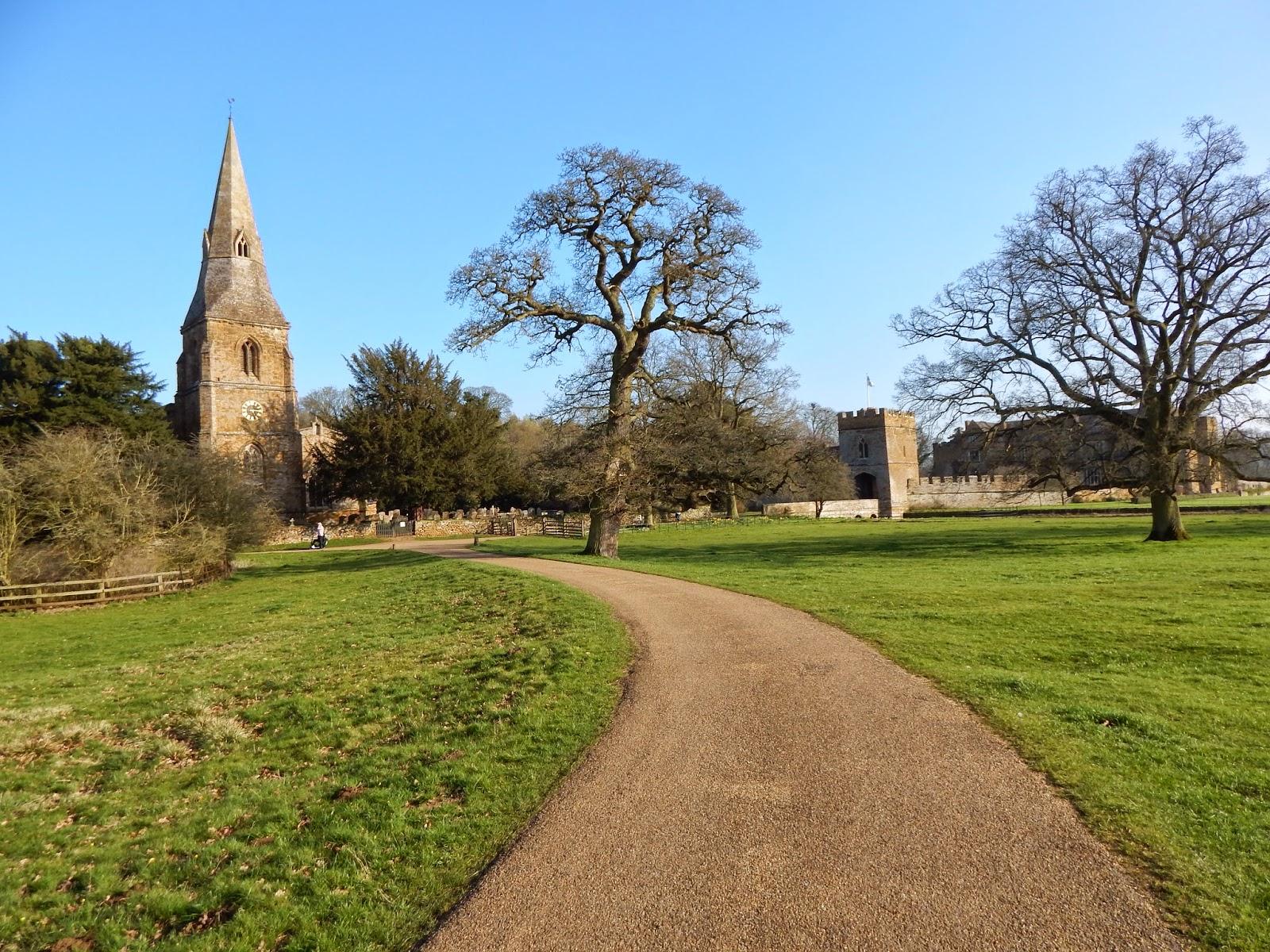 zamek Broughton, zwiedzanie, Banbury