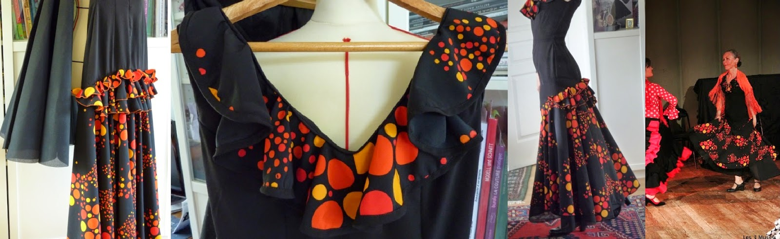 Robe de féria sur mesure par couturière à Versailles
