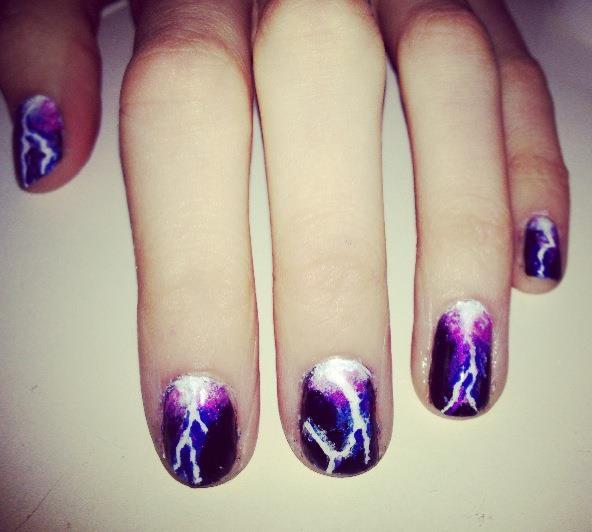 Lightning Nails Nails By Mellissa