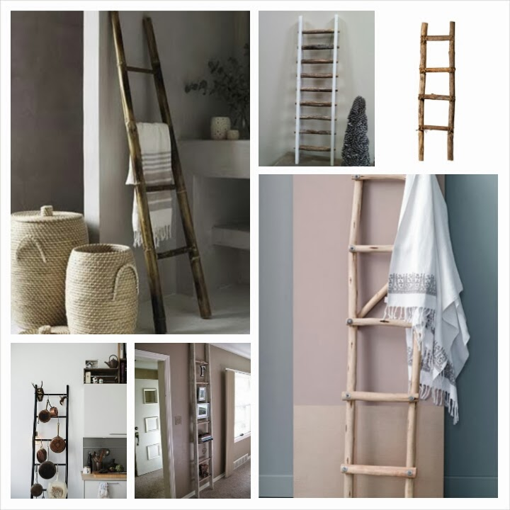 I want to make that decoratie ladder - Deco hal binnenkomst huis ...