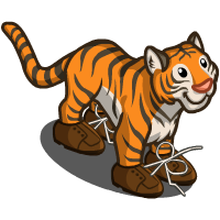 FarmVille Tripping Tiger