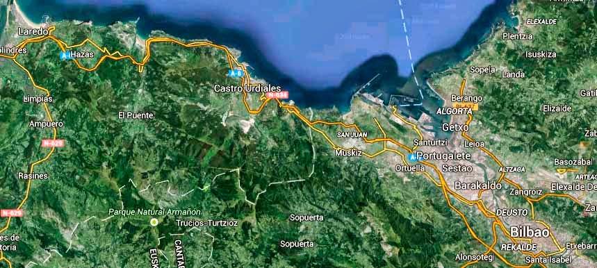 Gazta-Eguna-Trucíos-Turtzios-Mapa