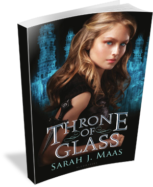 Book Cover: Throne of Glass by Sarah J. Maas