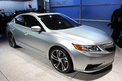 Acura Concept ILX,Destaques do Salão do Automóvel de Detroit 2012