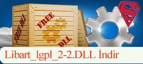 Libart_lgpl_2-2.dll Hatası çözümü.