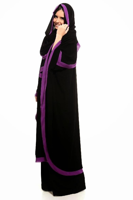 Colored Abaya Collection 2014 2015 Arzu Ergen Black Abaya Designs Designer Casual Abaya