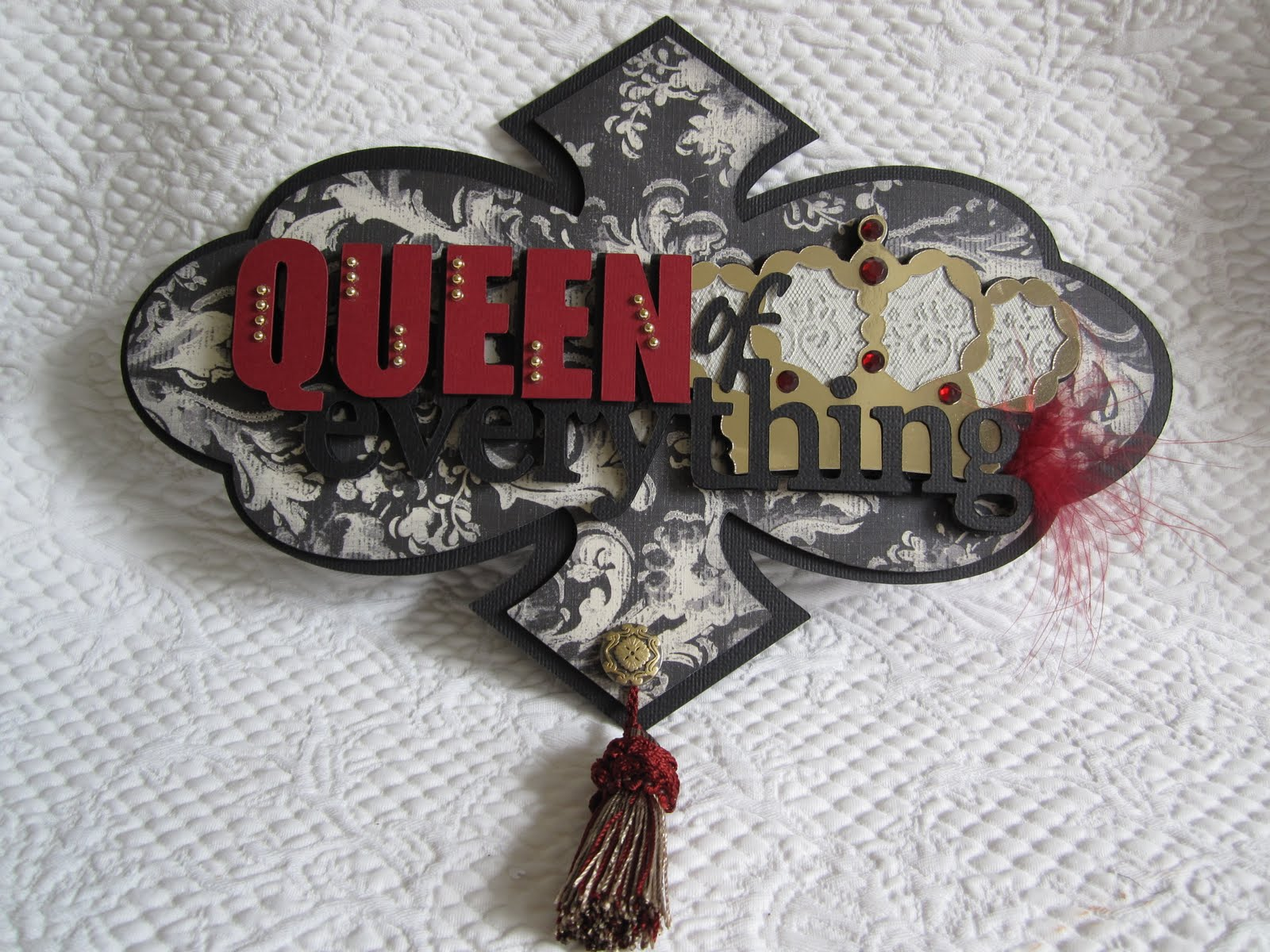 Bitten By The Bug 2 Home Decor Crown