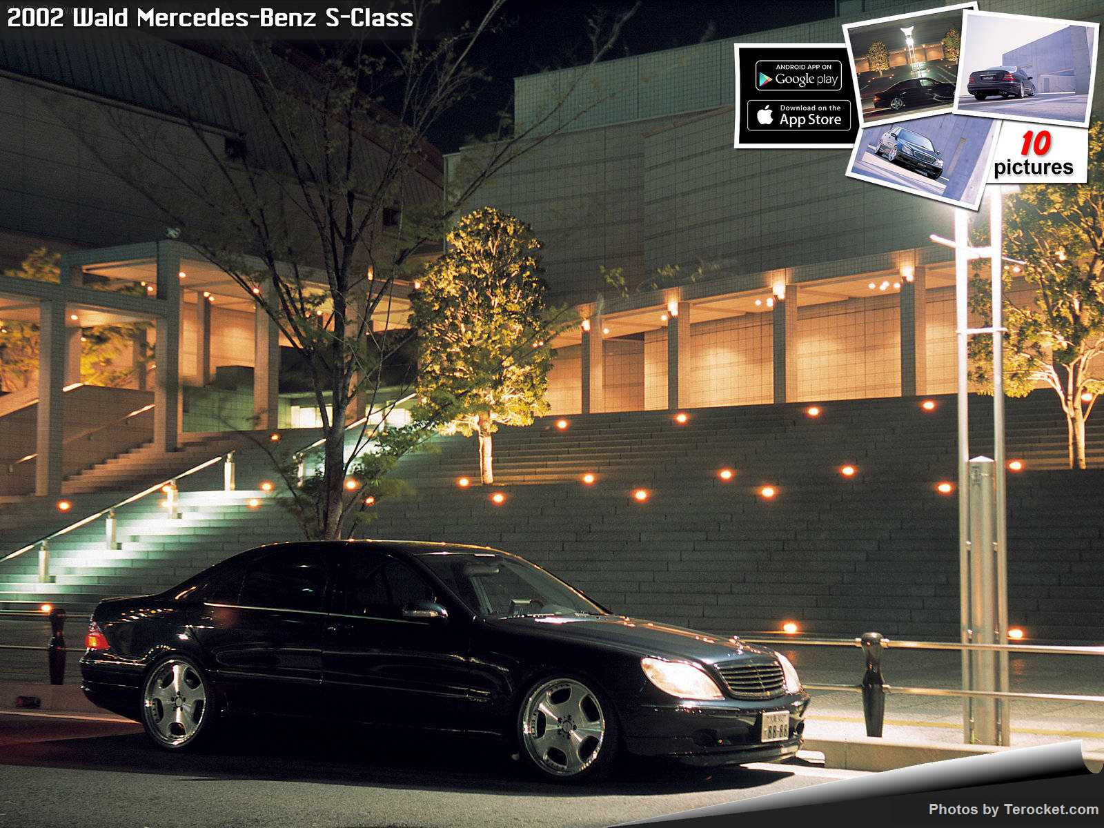 Hình ảnh xe độ Wald Mercedes-Benz S-Class 2002 & nội ngoại thất