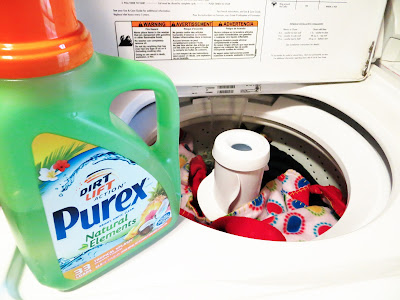 Purex Natural Elements Tropical Splash Detergent, laundry detergent, laundry soap