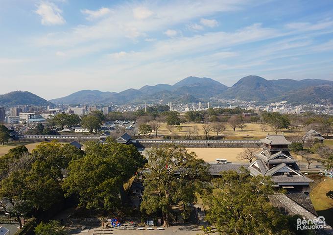 小天守からの熊本の景色