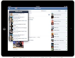 Facebook Untuk iPad