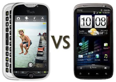 myTouch 4G Slide vs HTC Sensation