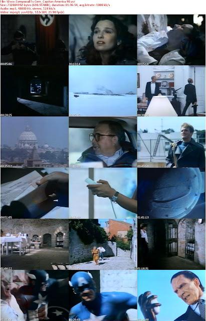 Capturas Capitan America DVDRip [Subtitulos Español] 1990