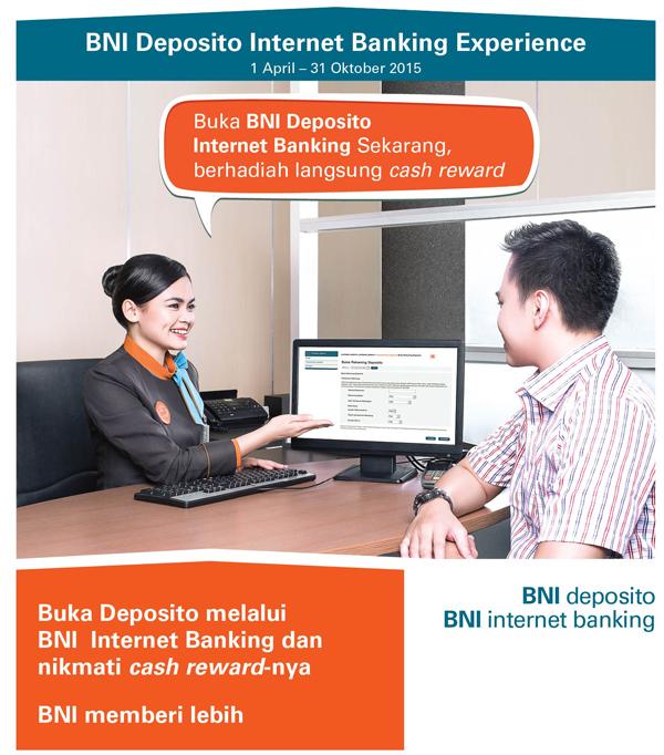 Buka Deposito melalui BNI Internet Banking dan nikmati ...