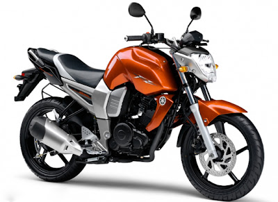 Yamaha FZ16 Orange View Right