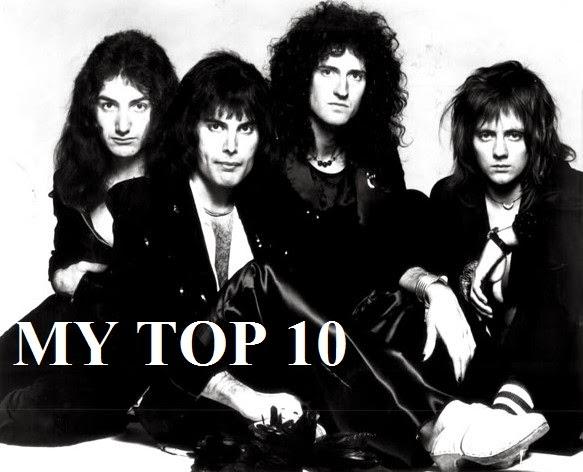 QUEEN - TOP 10