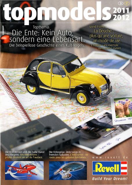 catalogue Revell 2cv
