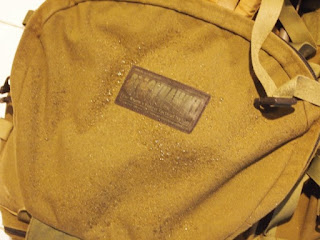 Bag after Nikwax Tech Wash