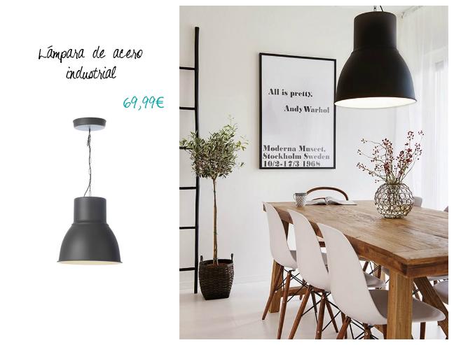 Lámpara Ikea Hektar