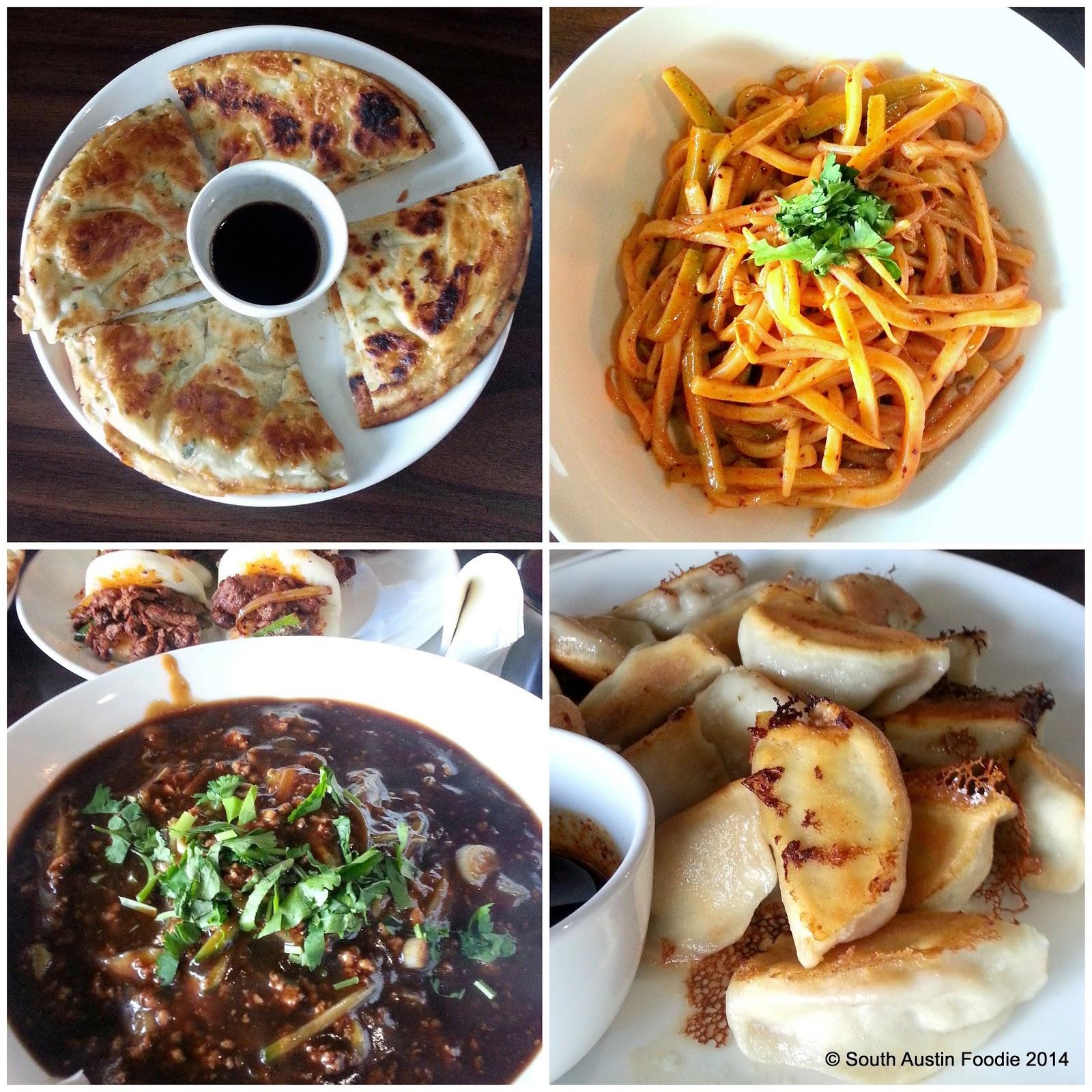 Chen Z -- green onion pancake, hand cut noodles, dumplings
