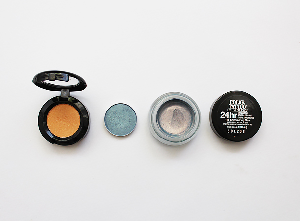 maybelline bleached neons shimmering sea review color tattoo mac tilt makeup look