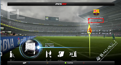 PES 2012 Trainer For Master League 2