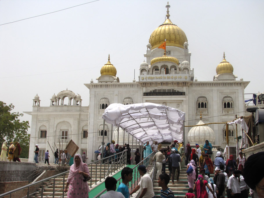 India, Delhi - Gurdwara Bangla Sahib