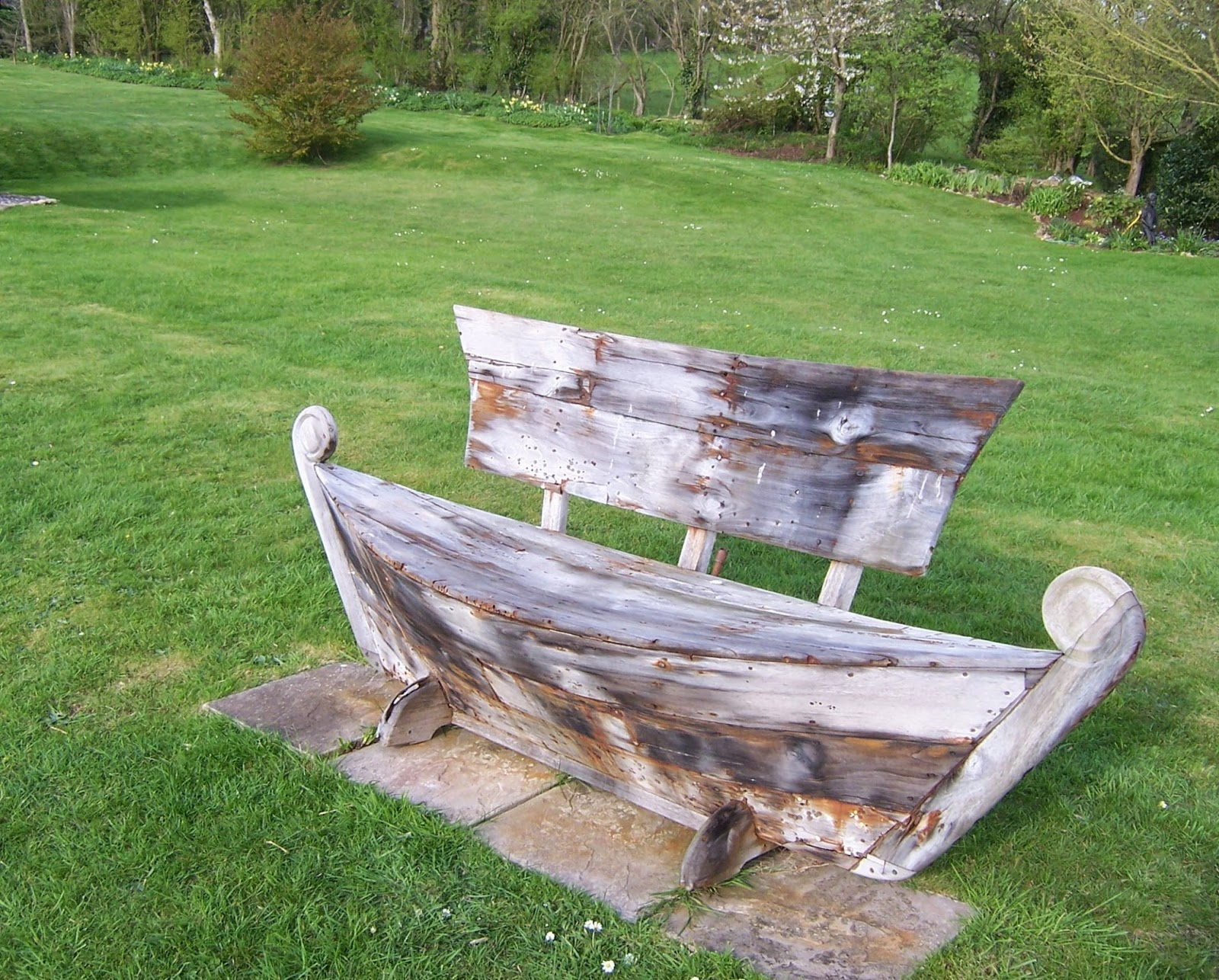 Benchsite Rocking The Boat Bench For Maritime Day