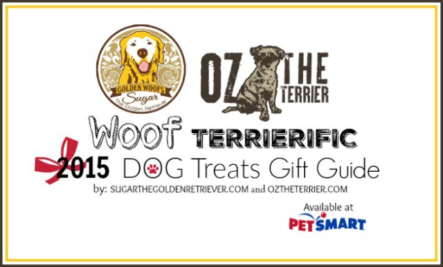 Oz and Sugar say Woof for Terrierific Dog Treats at PetSmart Holiday Gift Guide