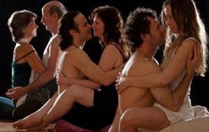 Loving yab yum sex position lady