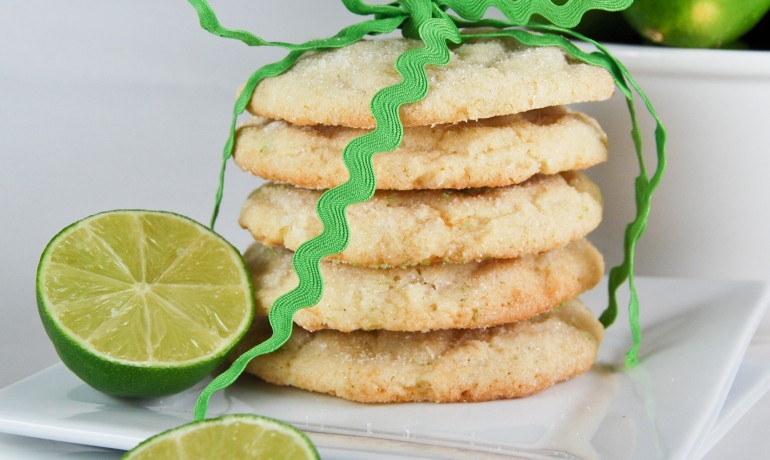 Chewy Coconut-Lime Sugar Cookies via Gonna Want Seconds
