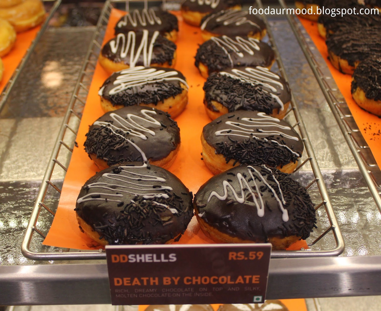 Dunkin Donuts India, Donuts, Death by Chocolate