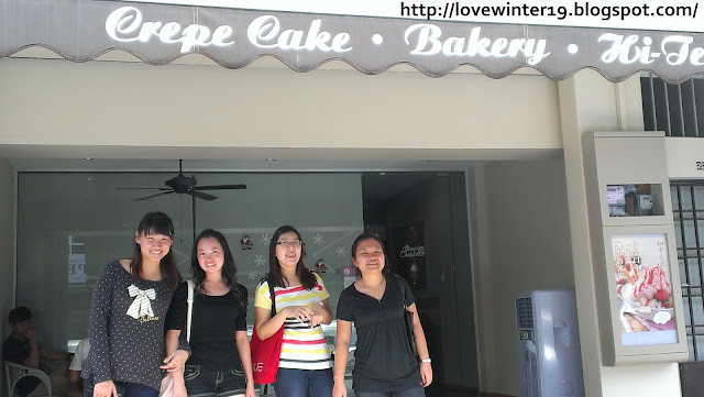 bakery, crepe cakes