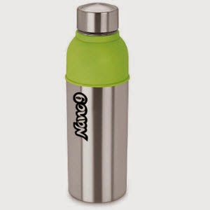 Pepperfry: Buy Nano 9 Insulated Energy Cool Green Bottle 600ml Rs. 169, 700 ml Rs. 223